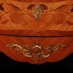 19th Century Bombe Commode Bottom Close Up