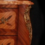 19th Century Bombe Commode Side Close Up