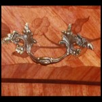 19th Century Commode Close Up Handle