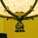 French Empire Chandelier Close Up of Bottom