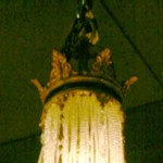 French Empire Chandelier Top
