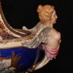 Paris Figured Vase Close Up of Figurine