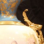 Sevres Urn Close Up of Handle