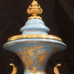 Sevres Urn Close Up of Top