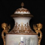 Sevres Urn French Close Up of Top