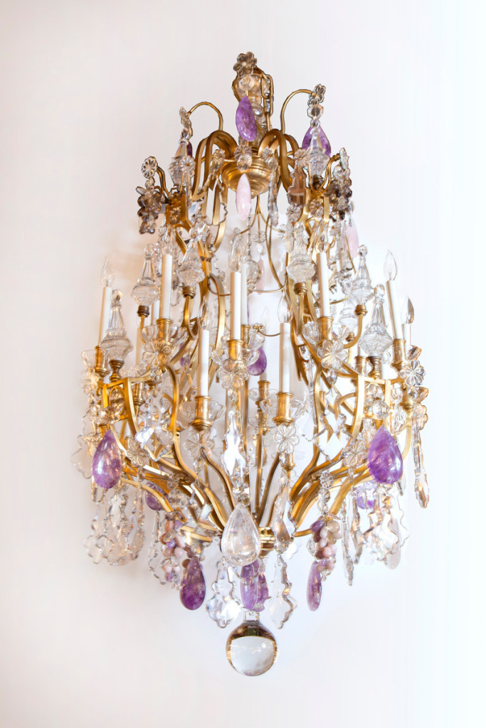 Antique Baccarat - Antique Baccarat Chandelier Charlotte Nail Antiques